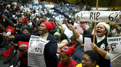 Stalemate over South Africa strike