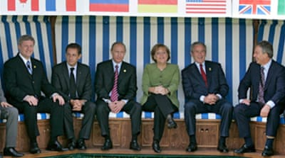 G8 reaches climate change deal