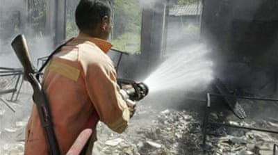 Schools torched in south Thailand