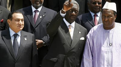 African Union summit opens in Ghana