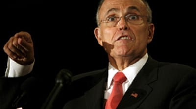 NYC firefighters criticise Giuliani