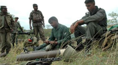 Sri Lankan troops clash with Tigers