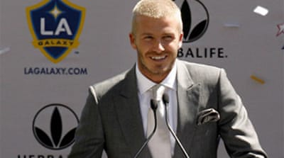 Beckham in a Galaxy far, far away