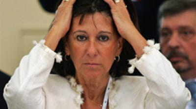 Cash row Argentine minister quits