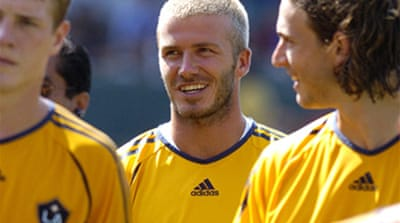 Beckham's debut in doubt