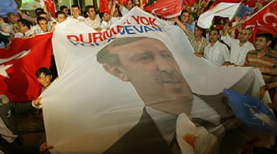 Turkey sees growth in AKP