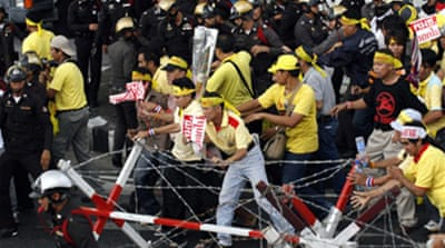 Thai anti-coup leaders detained