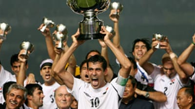 Iraq in historic Asian Cup win
