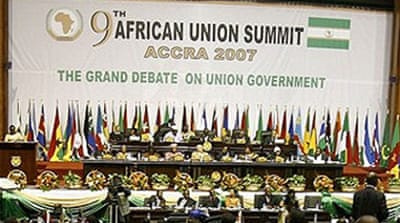 African leaders split on unity