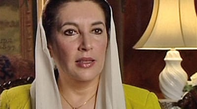 Bhutto: No power-sharing with army