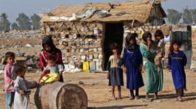 Half of Iraq 'in absolute poverty'