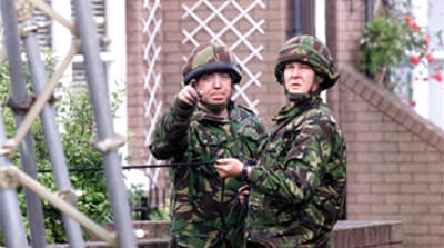 UK army ends operation in N Ireland