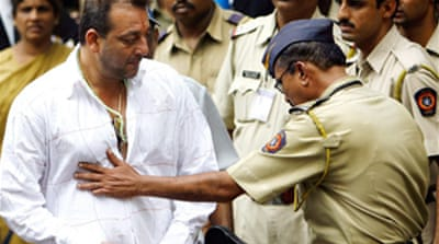 Bollywood actor given jail term