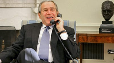 US court dismisses Bush spying case