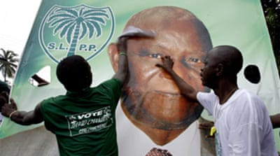 Sierra Leone readies for poll