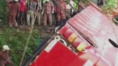 Many killed in Malaysia bus crash