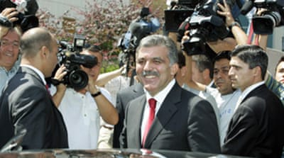 Gul makes new Turkey presidency bid
