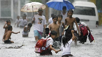 Philippines braces for typhoon