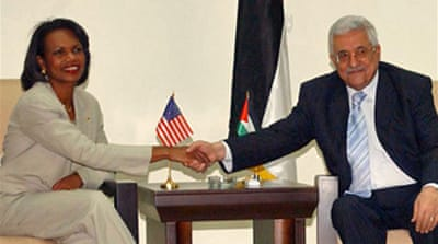 US and Palestinians sign $80m deal