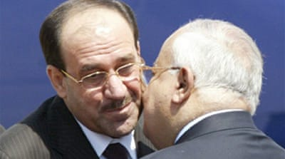 Iraqi leader in Syria for talks