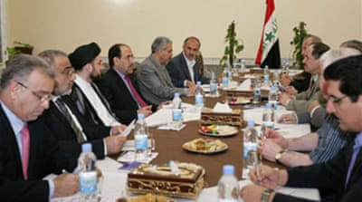 Iraqi leaders pledge unity