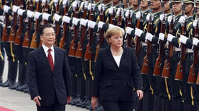 Merkel to press China on Darfur