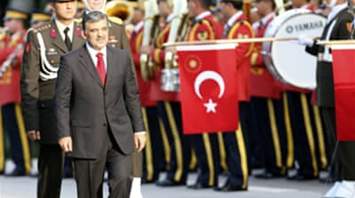 Gul sworn in as Turkish president