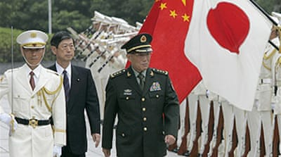 China 'must clarify' arms spending