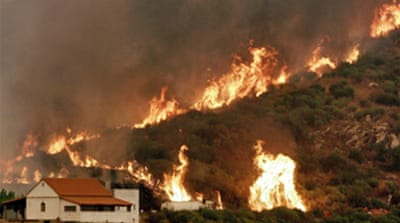 Greece tackles last major blaze