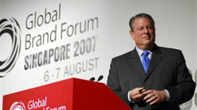 Gore  calls for 'greener business'