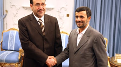 Maliki praises Iran's role in Iraq