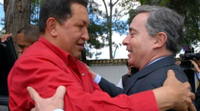 Chavez plans Colombia hostage talks