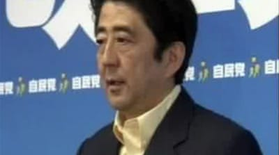 Abe's rocky year in power