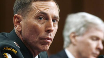 Petraeus hears Iraq war criticism
