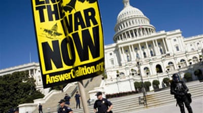 Thousands attend US anti-war march