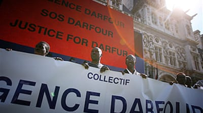Global protests held over Darfur