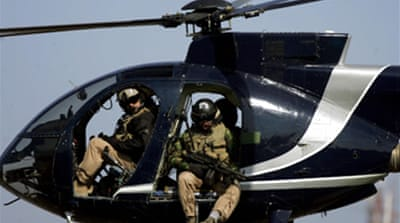 Iraqis sue Blackwater in US