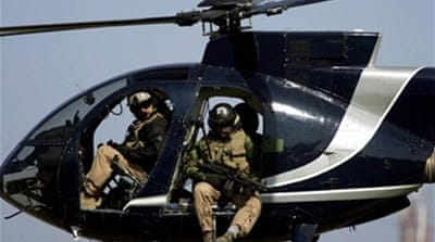 Blackwater guards 'given immunity'