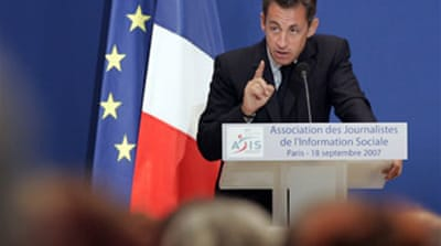Sarkozy plans pension 'reform'