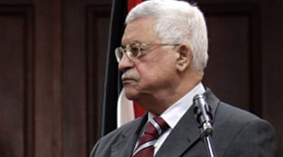 Abbas urged to be firm with Israel