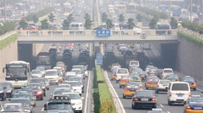 China ignores 'Car Free Day'