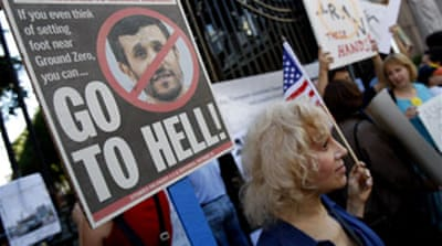 Ahmadinejad causes stir in New York