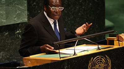 Mugabe hits out at 'hypocrite' Bush