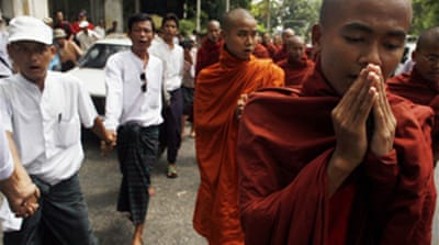 Myanmar monks' three demands