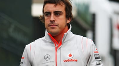 Alonso to do talking on the track
