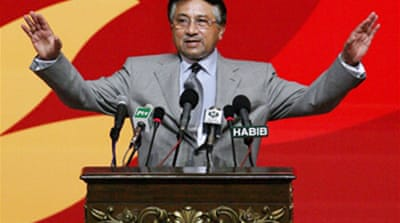Musharraf nominated for president