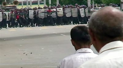 Yangon marchers 'not afraid to die'