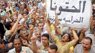 Egyptian textile workers end strike