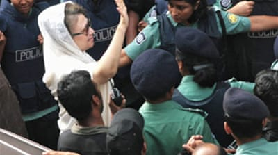 Bangladesh holds another former PM