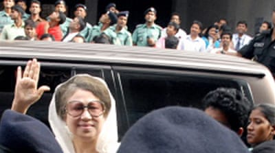 Bangladesh ex-PM freed on bail
